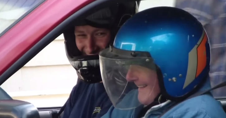 This 91 Year Old Man Completing His Bucket List Is The Strangest Thing Youll See Today nucket fb