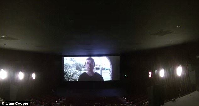 Aussie Guy Proposes In Cinema, Makes A Music Video From It proposalvid