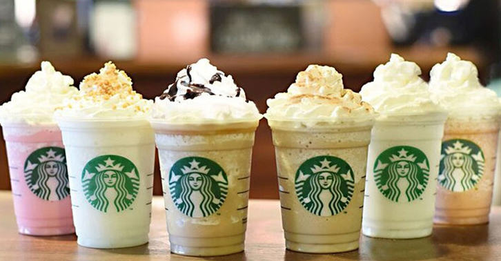 red v fb1 Starbucks Are Introducing SIX New Frappuccino Flavours For Their Anniversary