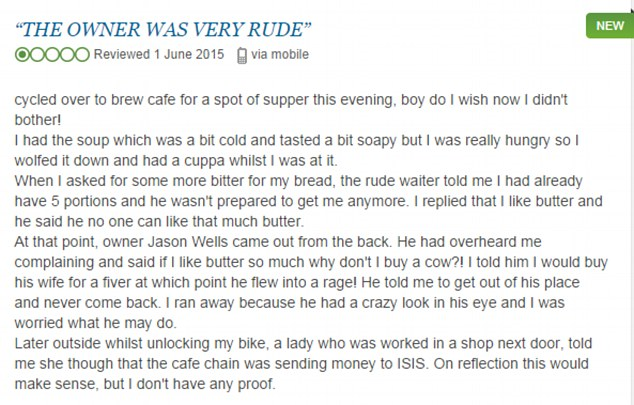 review Driver Who Ended Up In Altercation With Cyclist Sees Coffee Shops Trolled On TripAdvisor