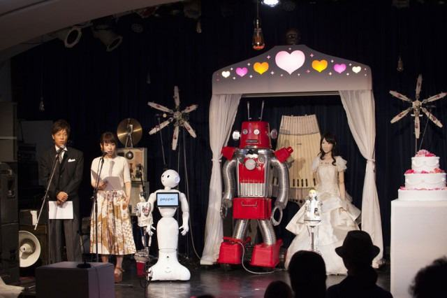 robot wedding 2 The Worlds First Robot Wedding Just Happened In Japan