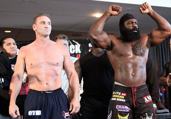 Kimbo Slice Vs Ken Shamrock Finally Happened And Ended With Brutal KO shamrock slice WEB
