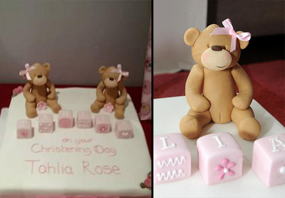 teddy cake WEB Mother Outraged By Teddy Bears On Christening Cake Which Look Like They Have Vaginas