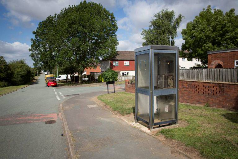 Box 2 SWNS Couple Stop To Have Sex In Phone Box On Way To Buy Fish, As You Do