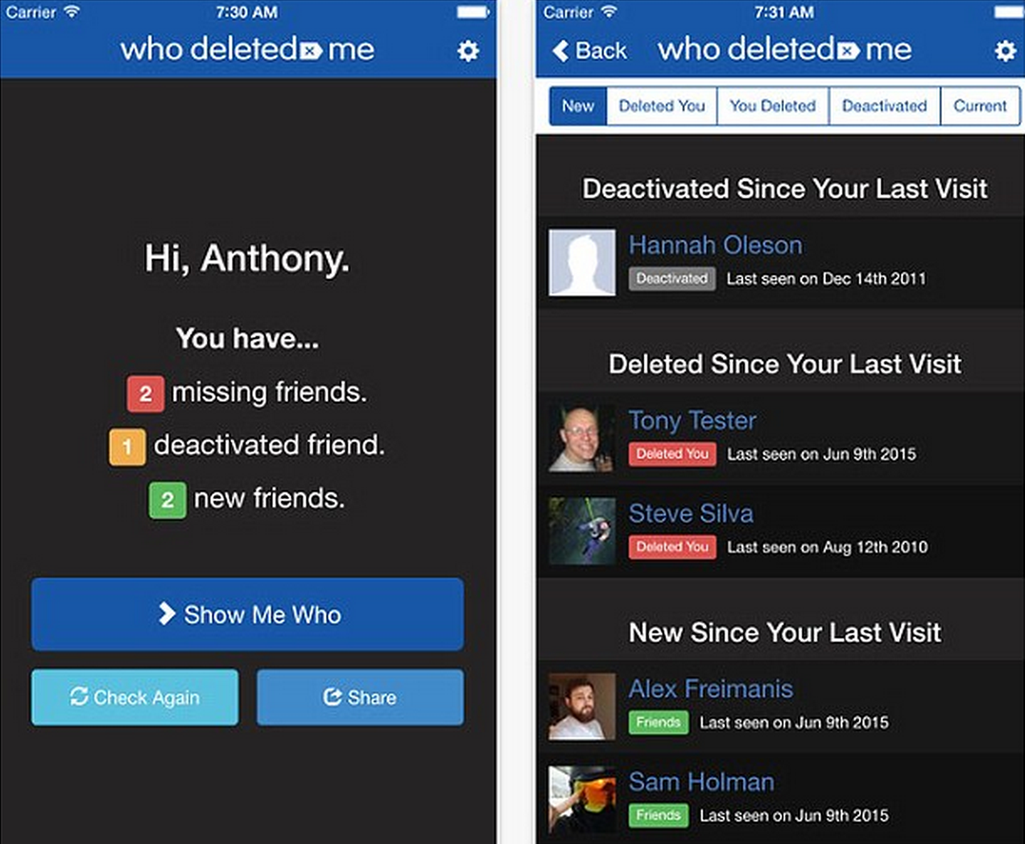 Screen Shot 2015 07 06 at 14.18.48 You Can Now Discover Who Has Deleted You On Facebook