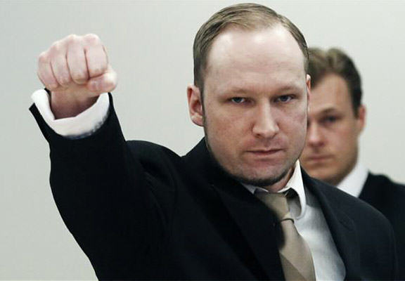 Mass Murderer Anders Breivik Accepted Onto University Course To Study Politics anders breivik WEB