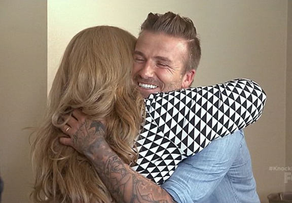 beckham surprise WEB David Beckham Surprises Family With $100,000 On Ryan Seacrests New TV Show