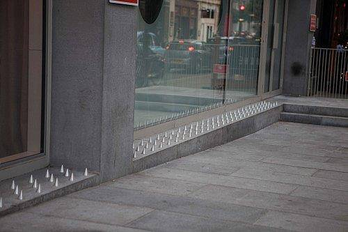 better than spikes 1 Someone Is Turning Anti Homeless Spikes Into Beds