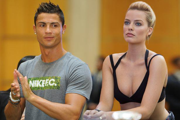 crmr1 Cristiano Ronaldo Seems To Be Using Insta To Hit On Margot Robbie