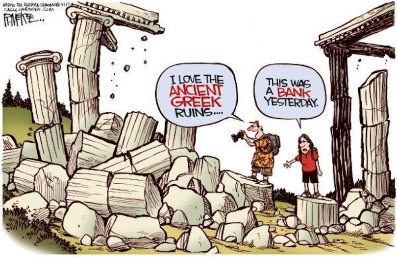 greek crisis 13 The Greek Debt Crisis Has Been Explained In Cartoons