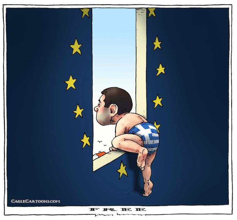greek crisis 15 The Greek Debt Crisis Has Been Explained In Cartoons