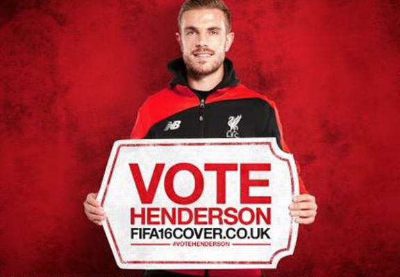 hendo web Internet Reacts To Jordan Henderson Being On The Cover Of FIFA 16