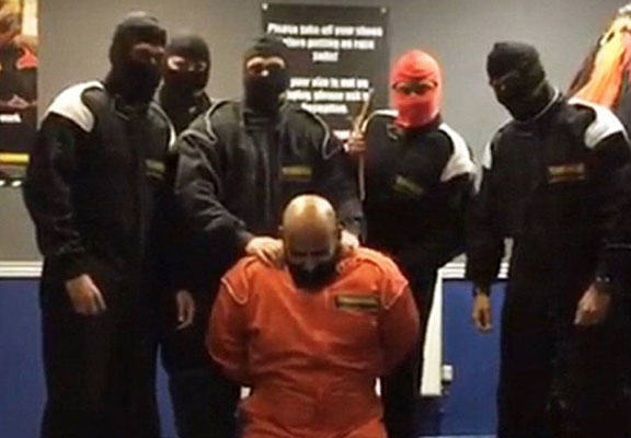 hsbc WEB HSBC Bankers Dress As ISIS For Pretend Beheading, Get Sacked