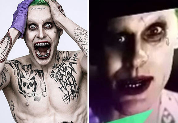 joker WEB Jared Letos Joker Comes To Life In Leaked Suicide Squad Trailer