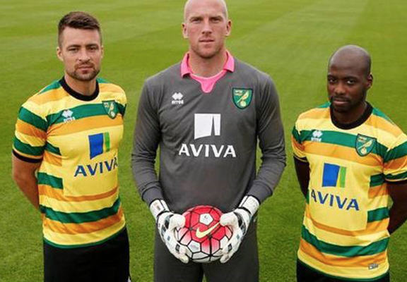 norwich 3 The Worst New Football Kits For The 2015/16 Season