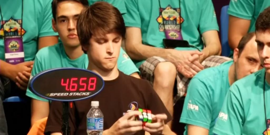 rubiks cube Teen Solves Rubiks Cube In Under 6 Seconds, Is About To Get SO Laid