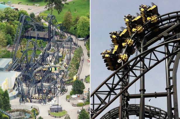 smiler Yet Another Rollercoaster Crash At Alton Towers