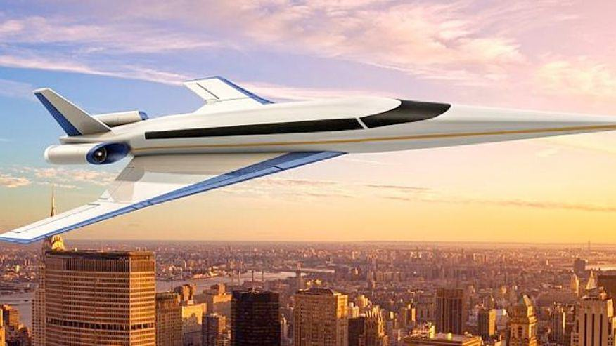 supersonic jet Supersonic Jet Could Get You From London To NYC In 3 Hours