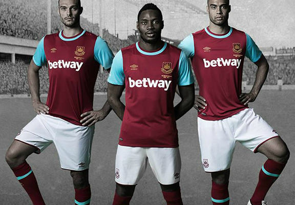 whu web The Best New Football Kits For The 2015/16 Season
