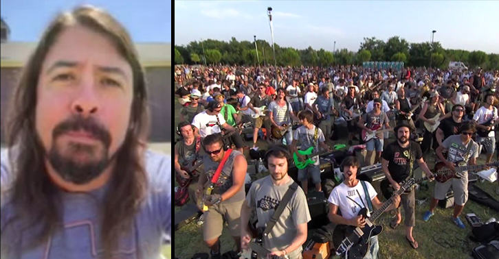 Foo Fighters Respond To That Video Of 1,000 Musicians Performing Learn To Fly GNDXQJ0n8foo fighters cesena FB.jpg