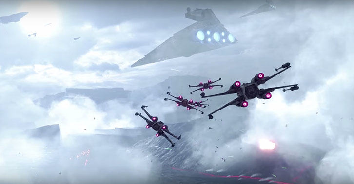 I7BsOU0Mb Star Wars: Battlefront Fighter Squadron Gameplay Trailer