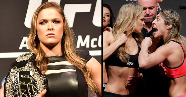 NhjdOnYtDrousey correia FB.jpg Emotional Ronda Rousey Vows To Make Bethe Correia Suffer For Mocking Her Fathers Suicide