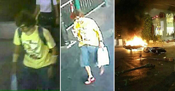 UNILAD 129 CCTV Suggests That This Could Be The Bangkok Bomber