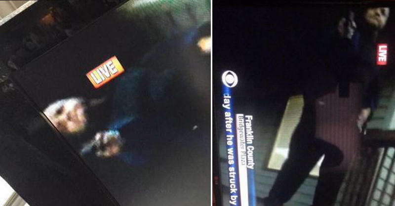 UNILAD 148 Footage From Live US TV Shooting Appears To Show Killer