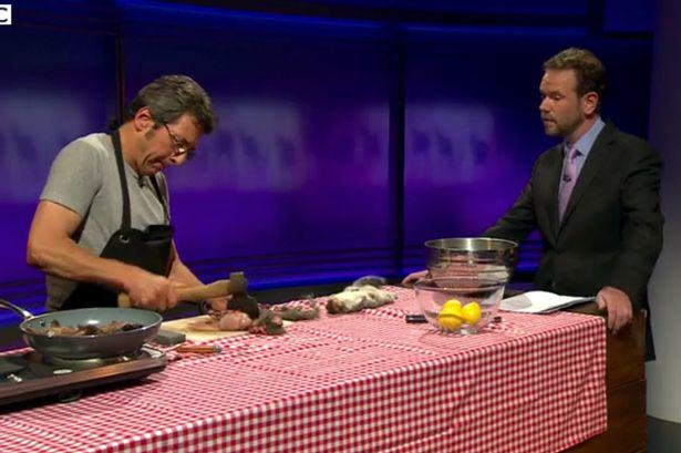 UNILAD 168 People Are Kicking Off After Someone Skinned And Cooked A Squirrel On TV