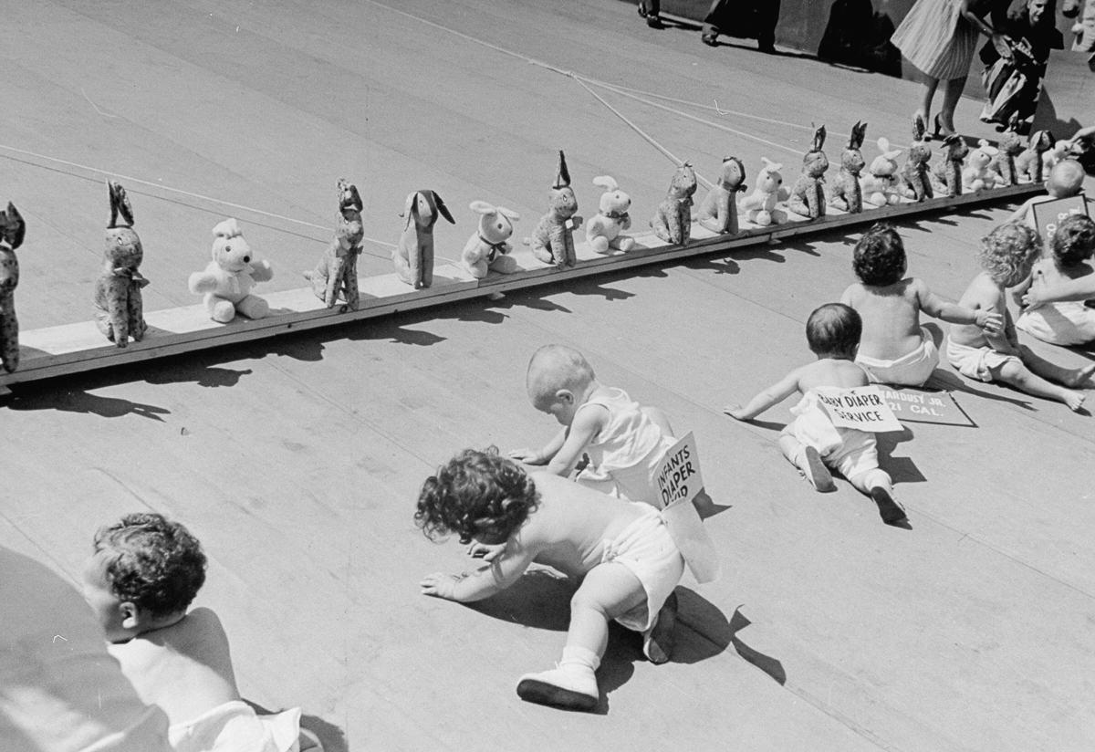 UNILAD CORNELL CAPATHE LIFE PICTURE COLLECTIONGETTY IMAGES4 Baby Racing Used To Be A Real Life Actual Sport, And It Was Amazing