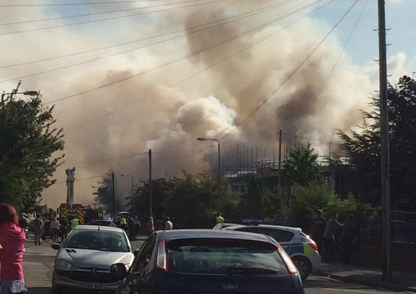 Massive Fire Rips Through School As Kids Collect GCSE Results UNILAD Carrie LambYorkshire Evening Post6