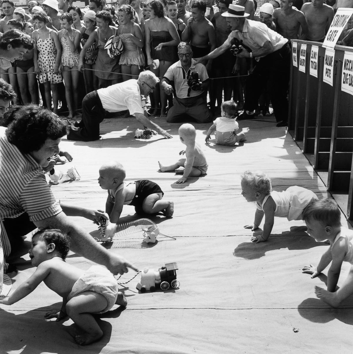 UNILAD HULTON ARCHIVEGETTY IMAGES 26 Baby Racing Used To Be A Real Life Actual Sport, And It Was Amazing