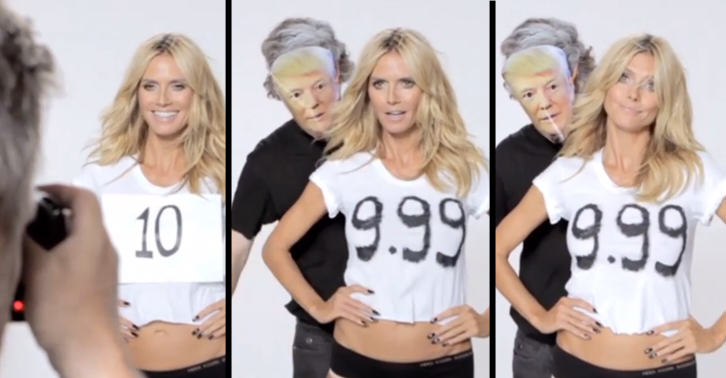 This Video Shows Heidi Klum Gives No F*cks About What Donald Trump Thinks Of Her UNILAD SMtrump 22