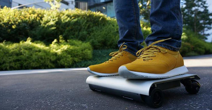 UNILAD TN16 The WalkCar Is Like A Segway Crossed With A Skateboard