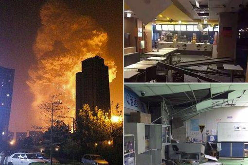 Seven Killed And Hundreds Injured In Massive Explosion In China UNILAD TianjinBlastMain5