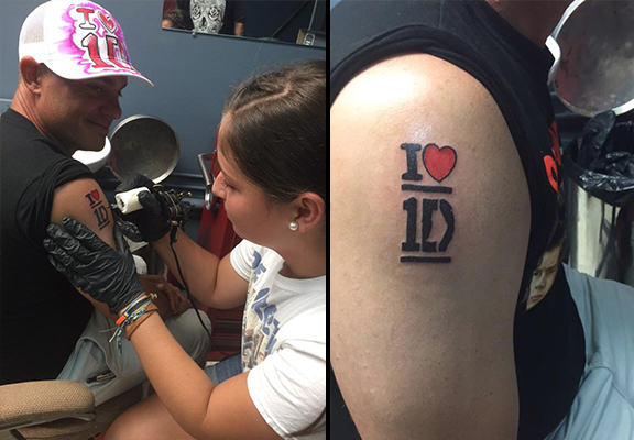 Dad Gets One Direction Tattoo To Win Contest, Realises Far Too Late Hes Disqualified From Competition UNILAD TqK0uXx