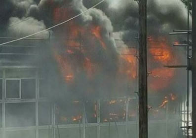 Massive Fire Rips Through School As Kids Collect GCSE Results UNILAD YEP2