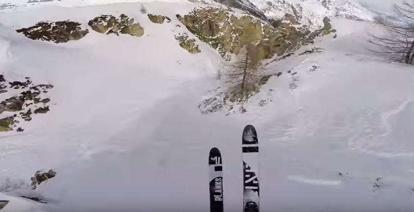 UNILAD Z9xJhUFdl GoPro Award French Skier $20,000 For This Intense Run