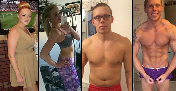 UNILAD bodybuilding couple WEB 25 Couple Who Wanted To Lose Weight Before Their Wedding Are Now Bodybuilders