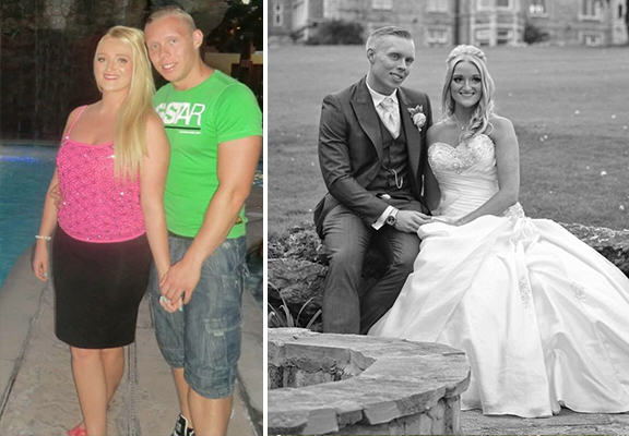 UNILAD bodybuilding couple WEB4 Couple Who Wanted To Lose Weight Before Their Wedding Are Now Bodybuilders