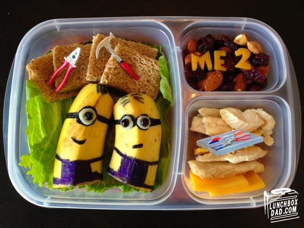 UNILAD despicable me4 This Awesome Dad Makes The Best School Dinners Ever