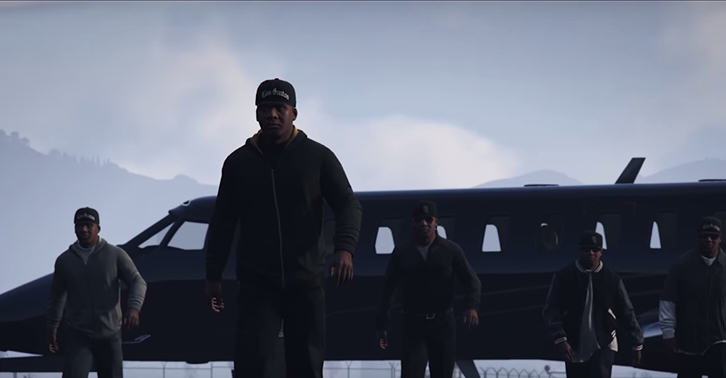 UNILAD gta5 This Grand Theft Auto Version Of Straight Outta Compton Is Perfect