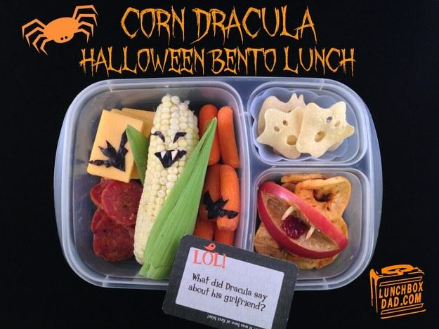 UNILAD halloween8 This Awesome Dad Makes The Best School Dinners Ever