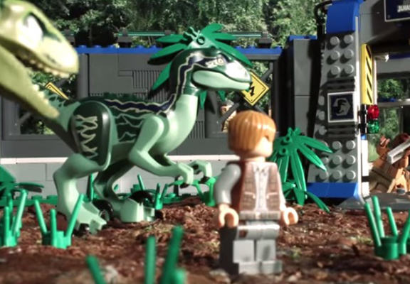 Awesome LEGO Animation Shows Jurassic World In 90 Seconds UNILAD jw web6