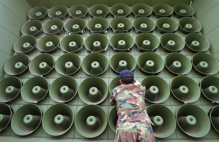 UNILAD loudspeaker south korea getty2 North Korea Declares It's In A 'Quasi State Of War' With The South