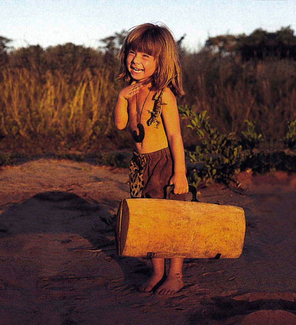 UNILAD lwXXgN37 These Awesome Photos Show A Little Girl Who Is Basically The Real Life Mowgli