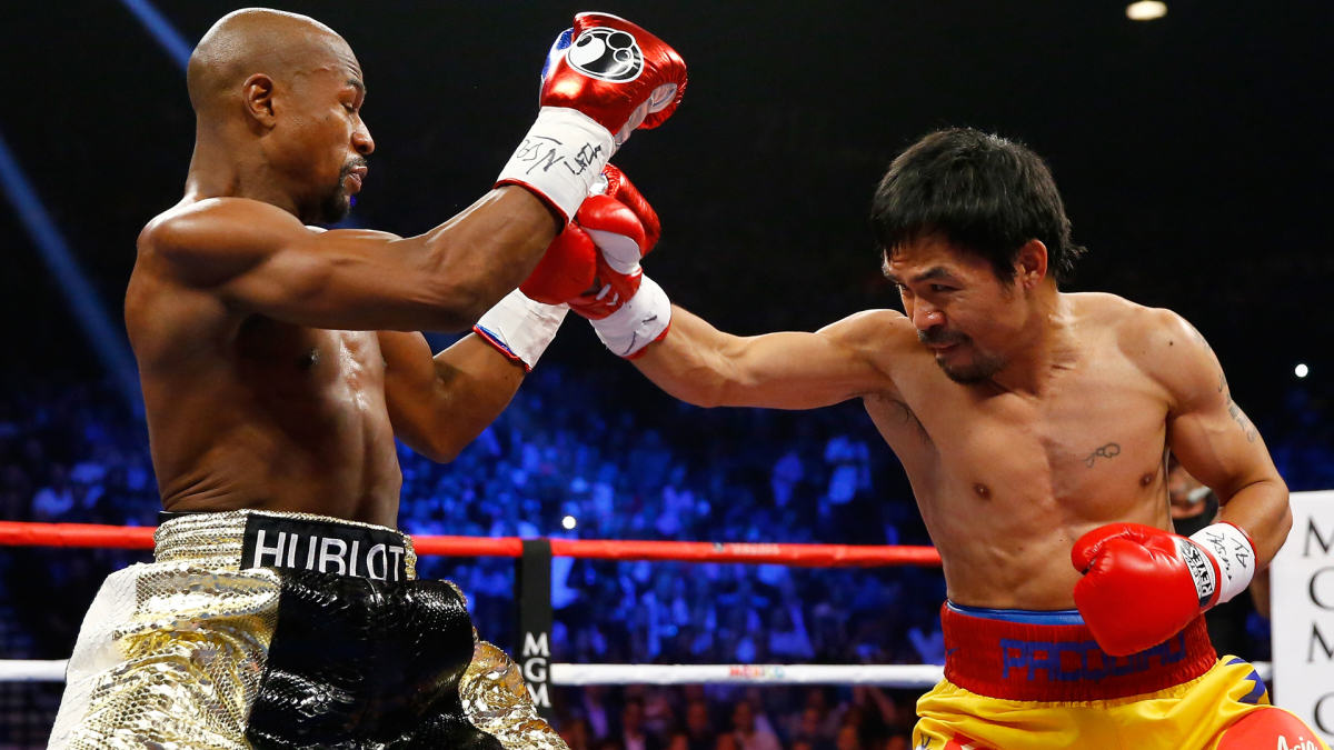 UNILAD mayweather pac 15 Manny Pacquiao Accuses Floyd Mayweather Of Running, Wants A Rematch