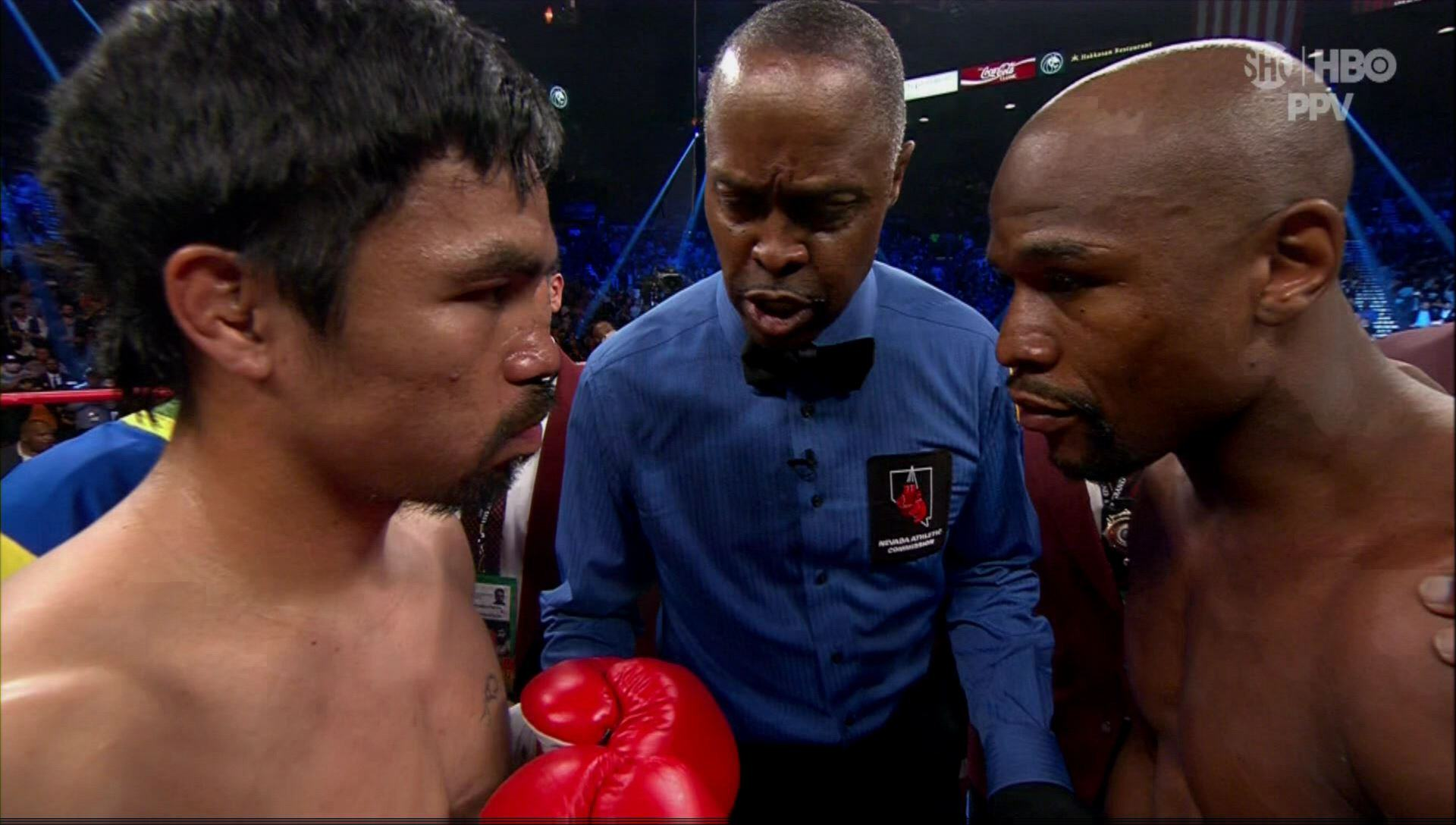 UNILAD mayweather pac 24 Manny Pacquiao Accuses Floyd Mayweather Of Running, Wants A Rematch