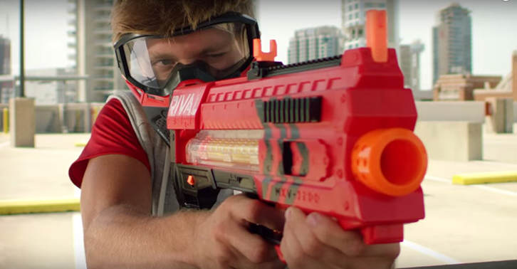 UNILAD nerf47 Nerf Announce New Blaster That Will Shoot Balls Up To 70 Miles Per Hour