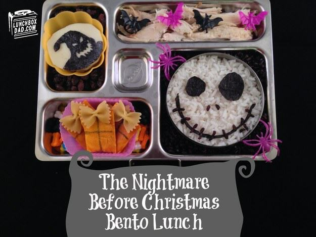This Awesome Dad Makes The Best School Dinners Ever UNILAD nightmare before chrstmas4